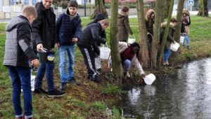 College Villebois Ouest France Safe Water Cube