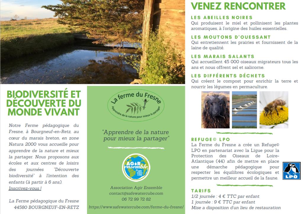 Ferme du Fresne _ Plaquette Journées Découverte Biodiversité